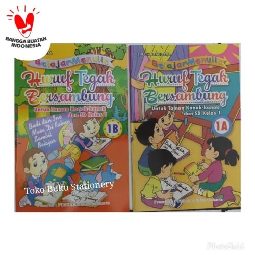 Foto Produk Belajar Menulis Huruf Tegak Bersambung (SDO) dari Toko Buku dan Stationery