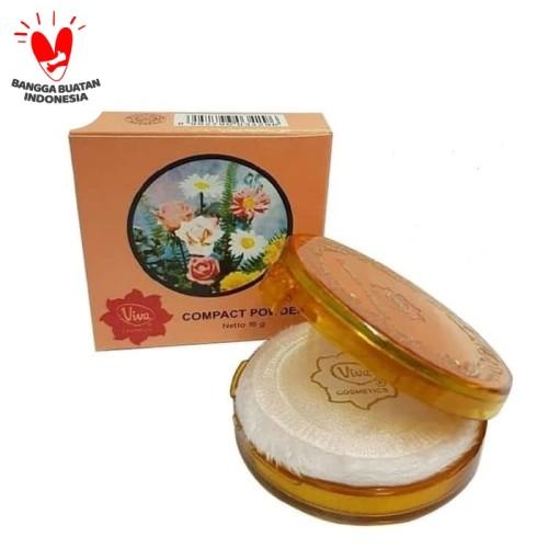 Foto Produk Viva Compact Powder 19gr (Bedak Padat Classic Standar) - Kuning Langsat dari Raja Jaya Perkasa