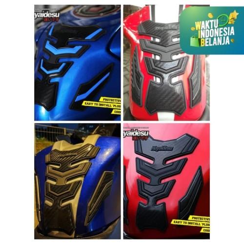 Foto Produk Aksesoris Tank Pad Universal Motosport Pelindung Tanki CBR Ninja GSX - Biru dari Hayaidesu Indonesia