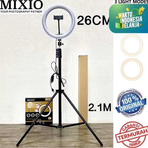 Foto Produk Ring Light 26cm + Light Stand Tripod 2M Selfie Vlogger Livestreamer - NO TAS dari Mix acc88