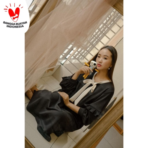 Foto Produk Jolie Clothing Myung Dress - all size dari Jolie Clothing