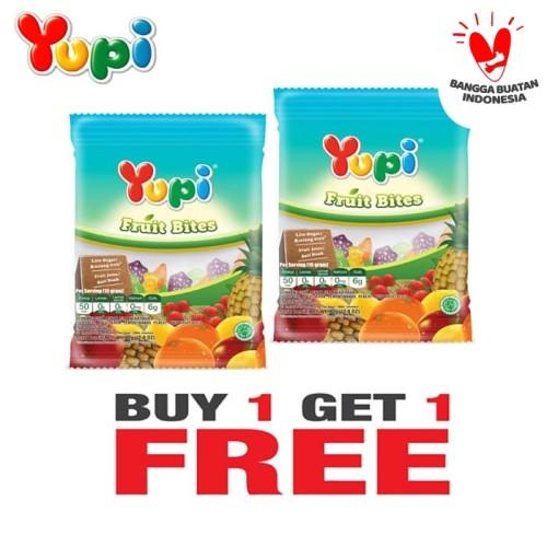 Foto Produk Yupi Fruit Bites 80 Gram Buy 1 Get 1 Free dari Yupi Store