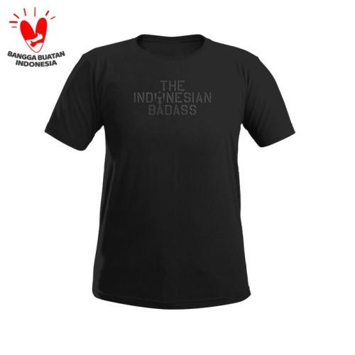 Foto Produk T shirt MOLAY THE INDONESIA BADASS HD - Hitam, M dari Molay
