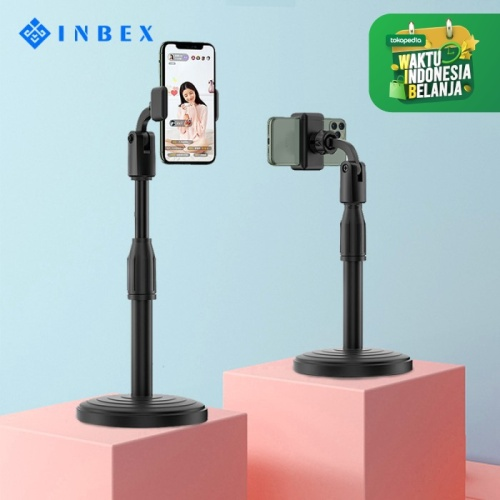 Foto Produk INBEX Holder Ponsel Multi Fungsi/Holder HP Stand LIVE Stand Rotary - IMP1701 dari INBEX Official Store