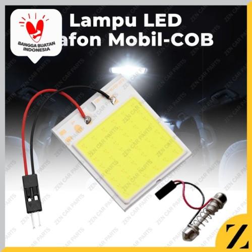 Foto Produk LAMPU LED KABIN PLAFON FESTOON COB PLASMA 24 TITIK TERANG UNIVERSAL dari Zen Car Parts