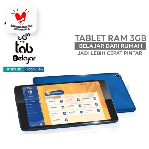 Foto Produk Advan Tablet 8 Belajar 8 Inci 3 GB 16 GB Android Garansi Resmi - Hitam dari Advan Official Store
