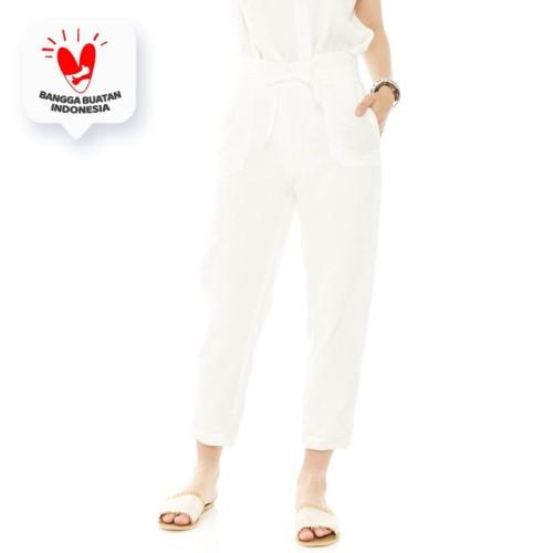 Foto Produk Anvaya Pants in White - Beatrice Clothing dari Beatrice Clothing