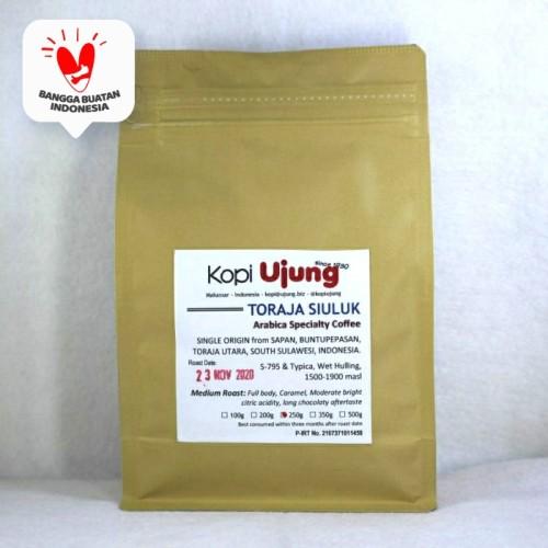 Foto Produk Kopi Ujung Arabica Toraja Sapan Siuluk 250 Gram dari KOPI UJUNG