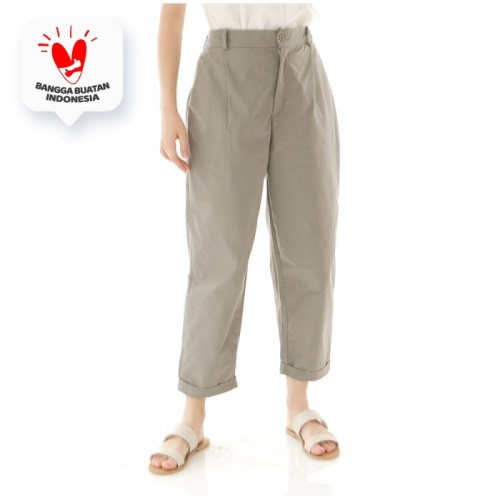 Foto Produk Kama Linen Pants in Olive - Beatrice Clothing Official dari Beatrice Clothing