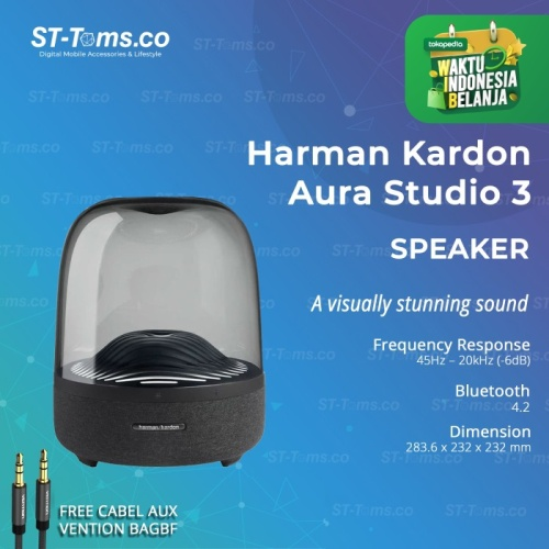 Foto Produk Harman Kardon Aura Studio 3 Bluetooth Wireless Speaker dari ST-Toms.co