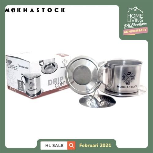 Foto Produk Mokhastock Vietnam Drip Coffee Maker Kopi Vietnam Model Gravitasi Sz 8 dari Mokhastock