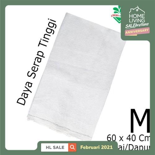 Foto Produk Kain Lap Katun Kain Pel Lantai Kain Dapur Dust Cloth M 980314 Cleanmat dari Tchome Official Store