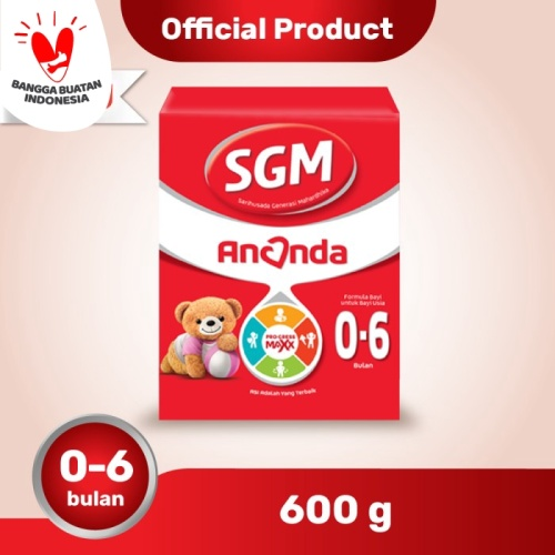 Foto Produk SGM Ananda 1 Susu Formula Bayi 0-6 Bln 600g dari SGM Official Store