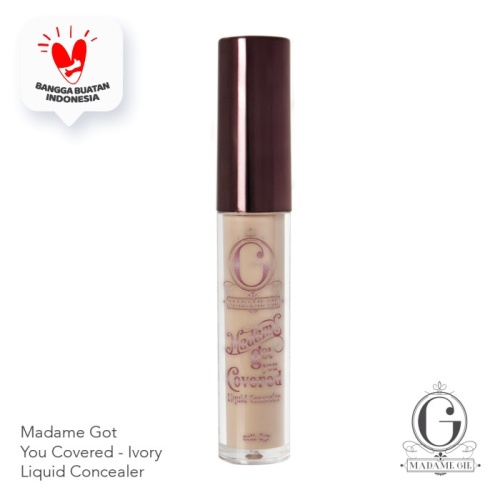 Foto Produk Madame Gie Madame Got You Covered - Covered Ivory dari Madame Gie Official