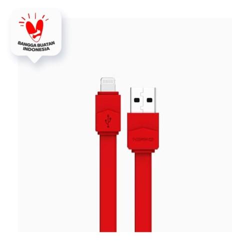 Foto Produk Hippo Lica Lightning Kabel Data Iphone 30 cm - Putih dari Hippo Official Store