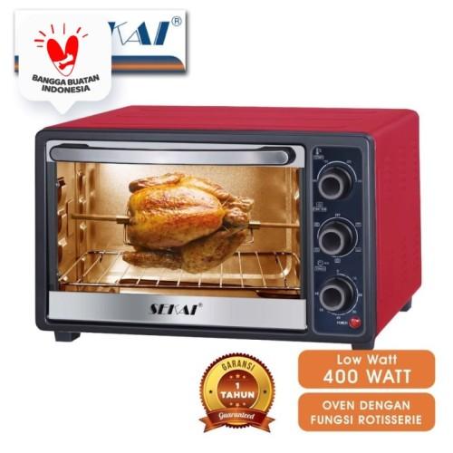 Foto Produk Sekai Oven Listrik (21L) OV 210 - Merah dari SEKAI HOME ELECTRONICS