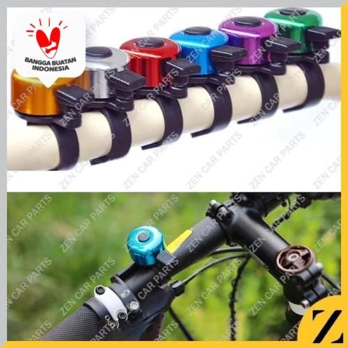 Foto Produk PROMO Bel Sepeda Kecil Mini Warna Ringing Bell Murah Nyaring dari Zen Car Parts
