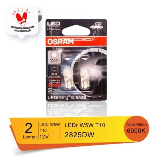 Foto Produk Lampu Led Senja T10 W5W Osram Retrofit 2825DW - Cool White dari Osram Automotive