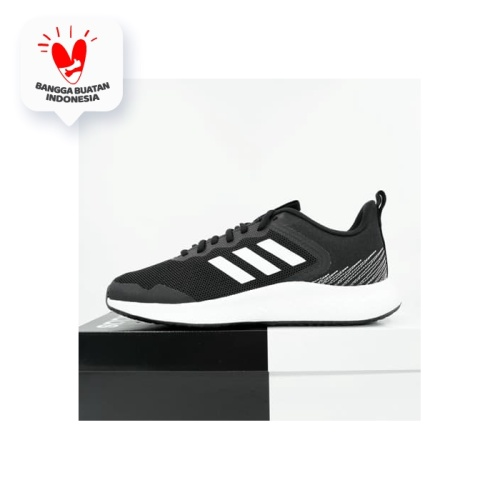 Foto Produk Sepatu Running/Lari Adidas Fluidstreet Core Black FW1703 Original BNIB - 42 dari KING OF DRIBBLE
