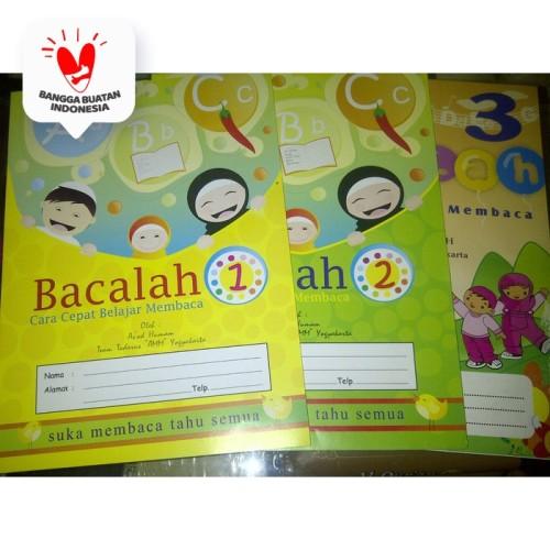 Foto Produk Buku Anak BACALAH Jilid 1-3, Cara Cepat belajar membaca dari ALIDA