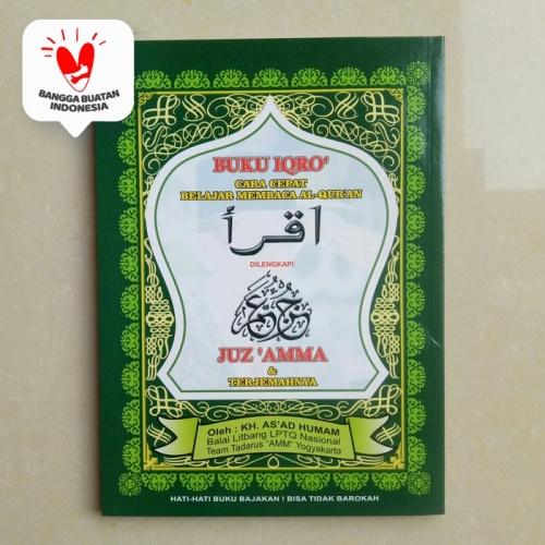Foto Produk Buku IQRO Bendel Besar Plus Juz Amma HVS dari ALIDA