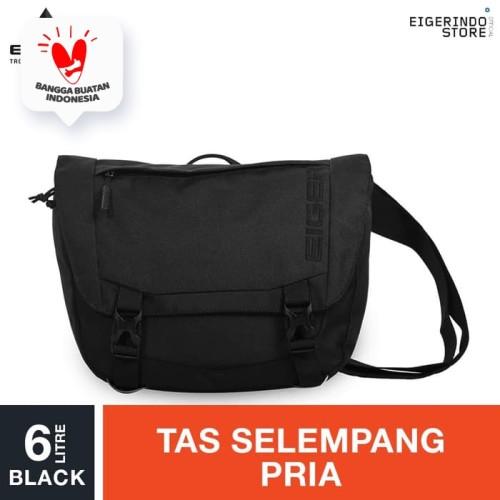 Foto Produk Eiger Vellocity-SH Shoulder Bag 6L - Black dari Eigerindo Store