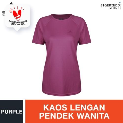 Foto Produk Eiger WS Apricity T-shirt - Purple - S dari Eigerindo Store