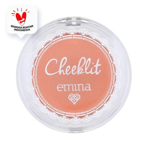 Foto Produk Emina Cheek Lit Pressed Blush Sugarcane 3.5 gr dari Emina Official Store