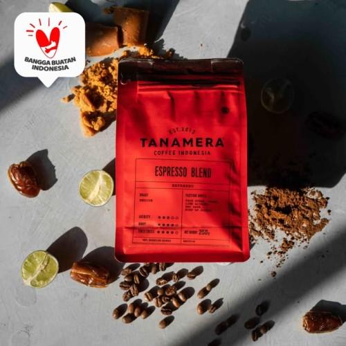 Foto Produk Kopi Arabika Tanamera Coffee Espresso Blend 250 Gr - Fine Grind dari Tanamera Coffee