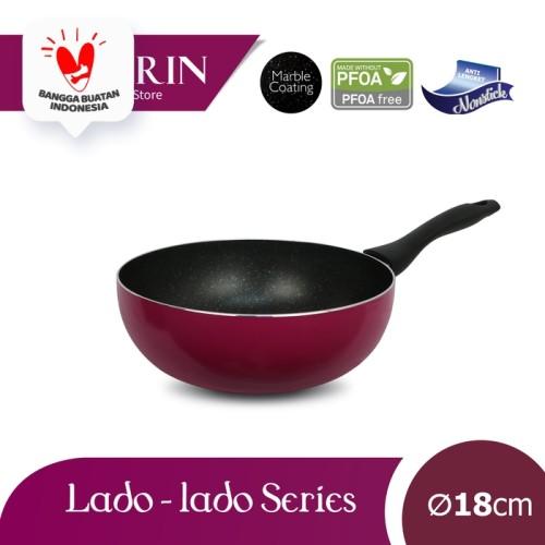 Foto Produk KIRIN FRYPAN DEEP | LADO-LADO | 18 | TEFLON CLASSIC | 1.9MM dari Kirin