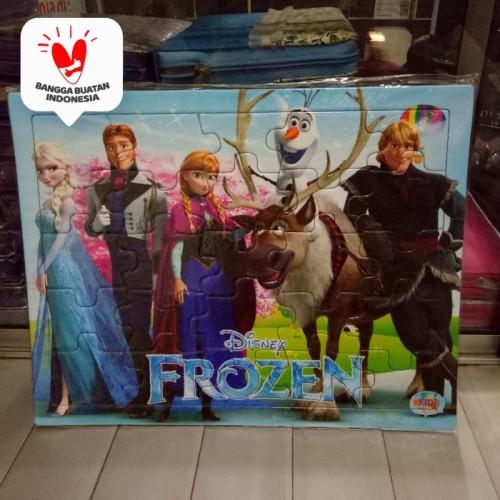 Foto Produk Puzzle / Puzle / Pazel FROZEN uk Besar belajar mengasah otak anak dari ALIDA