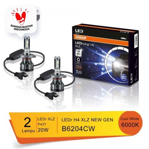 Foto Produk Lampu Utama LED Mobil OSRAM H4 XLZ NEW GEN - B6204CW dari Osram Automotive