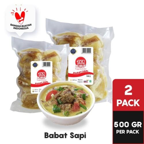 Foto Produk KIBIF Babat Sapi 2 Pack = 1 KG dari KIBIF Official Store