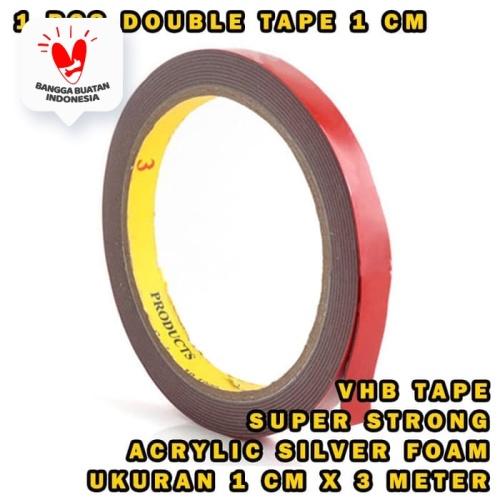 Foto Produk 3m double dobel tape 10mm isolasi perekat import dari Modifikasi Market