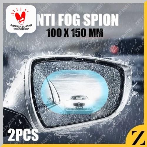 Foto Produk ANTI FOG OVAL SPION MOBIL BESAR UNIVERSAL 100MM X 150MM 10CM X 15CM dari Zen Car Parts