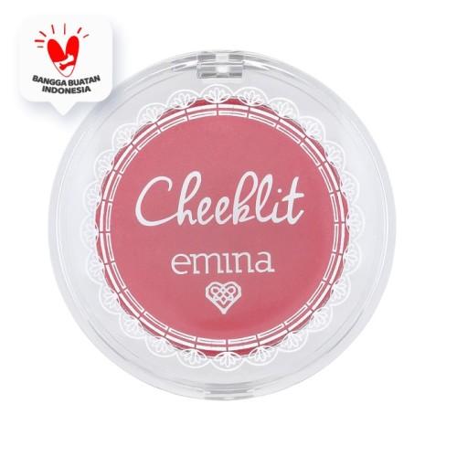 Foto Produk Emina Cheek Lit Pressed Blush Cotton Candy 3.5 gr dari Emina Official Store