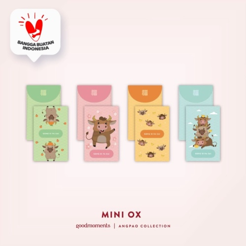 Foto Produk Mini Ox Angpao (1pack 10pcs) dari Insight Unlimited