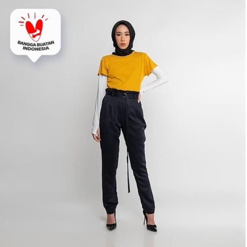 Foto Produk JENAHARA ShortSleeve T-shirt Mustard - Mustard, XL dari JENAHARA OFFICIAL
