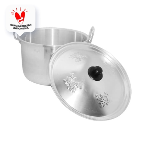 Foto Produk Maspion Panci Tinggi TL 18 cm - Silver dari Home-klik