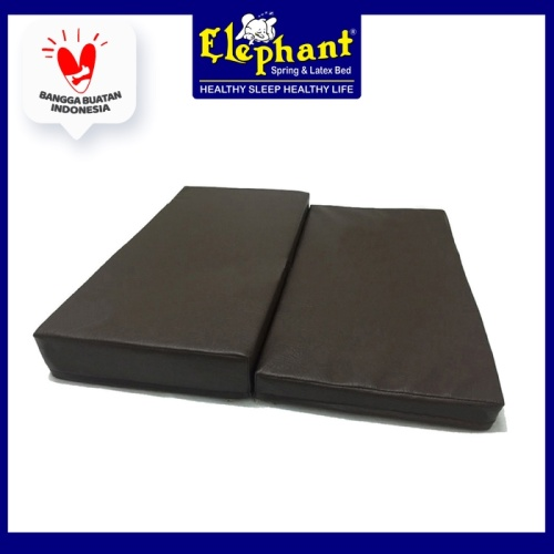 Foto Produk Matras Bantal Lipat Alas Tempat Duduk Cushion Meditasi Doa Yoga - Coklat Tua dari Elephant Springbed