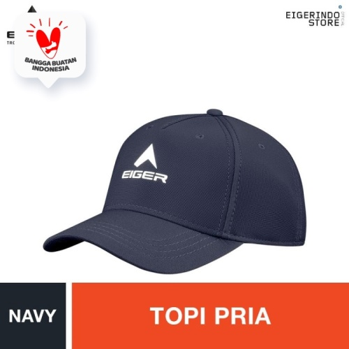 Foto Produk Eiger T12S-6079 Baseball Caps - Navy L dari Eigerindo Store