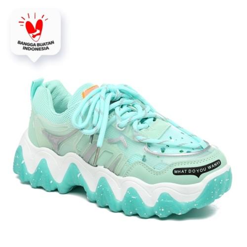 Foto Produk PVN Sepatu Sneakers Wanita Sport Shoes 124 - tosca, 40 dari PVN Official Store