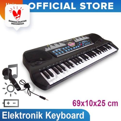 Foto Produk Mainan Musikal Elektronik Organ Keyboard 54 Keys Mainan Anak-HS-5421 dari Ocean Toy Indo