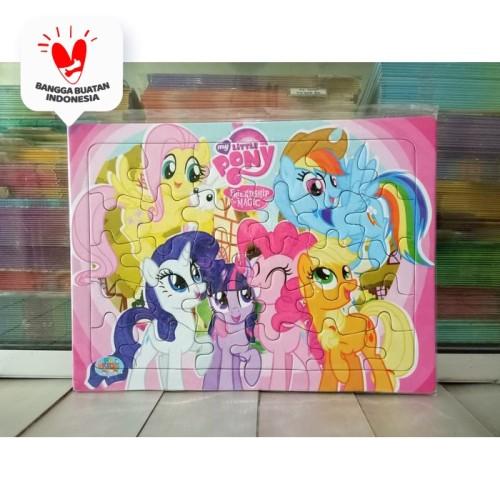 Foto Produk Puzzle / Puzle / Pazel My Little Pony - belajar mengasah otak anak dari ALIDA