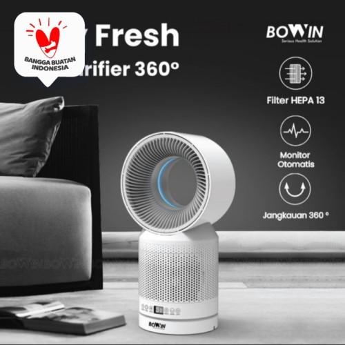 Foto Produk Air Purifier Bowin ( Filter HEPA 13 & Karbon Aktif ) Sertifikasi FDA dari JMC Helmet