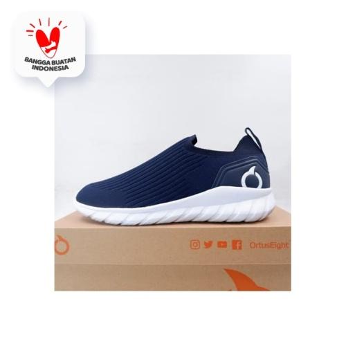 Foto Produk Sepatu Lari/Running Ortuseight Mamushi Navy White 11030082 Original dari KING OF DRIBBLE