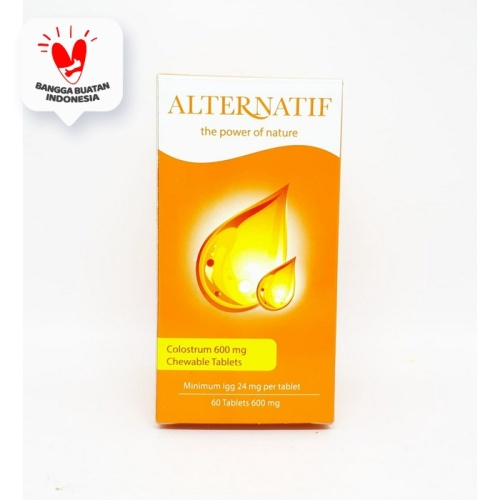 Foto Produk ALTERNATIF COLOSTRUM 600MG ISI 60 TABLET dari HouseHerbal