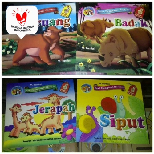 Foto Produk Grosir buku cerita Seri Mengenal Hewan binatang buku anak Animal Story dari ALIDA