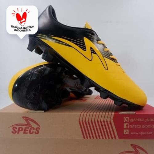 Foto Produk Sepatu Bola Specs Ryusei FG Sun Yellow Black 101325 Original BNIB - 43 dari KING OF DRIBBLE