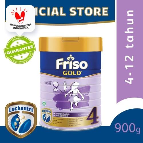 Foto Produk Friso Gold 4 Susu Formula Anak 4-12 Tahun 900g dari Friso Official Store